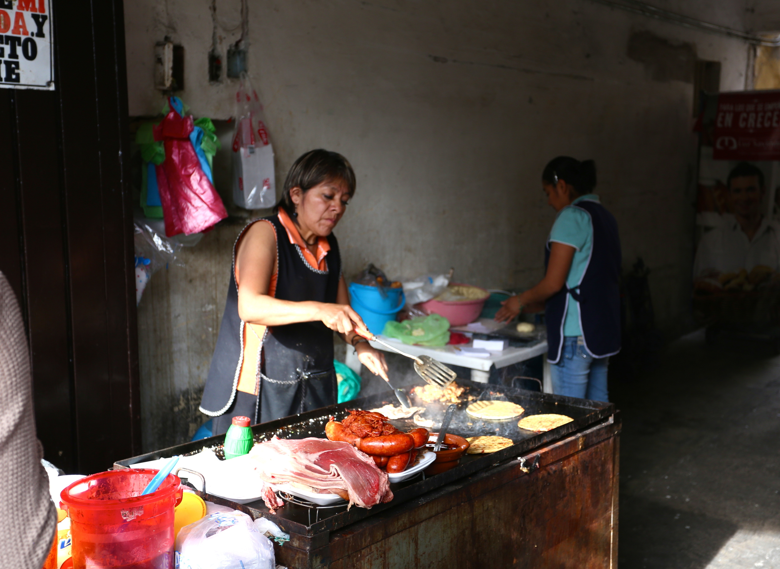 "I had spoken to some locals about the landscape of business in Mexico City. It was clear that though gender issues still left a mark on their society (""machismo is a big thing here,"" I heard), women had a large upper hand in the businesses. Many restaurants and stores were owned and operated by women, some on their own, others with employees."