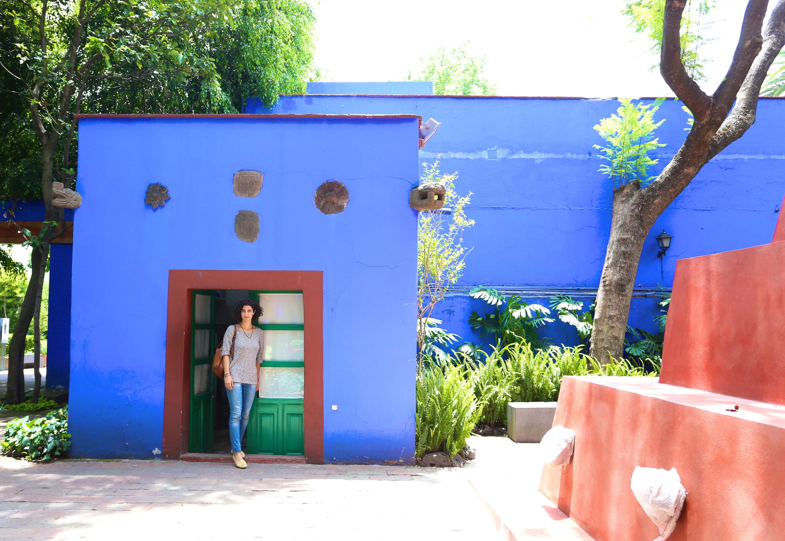 At La Casa Azul.