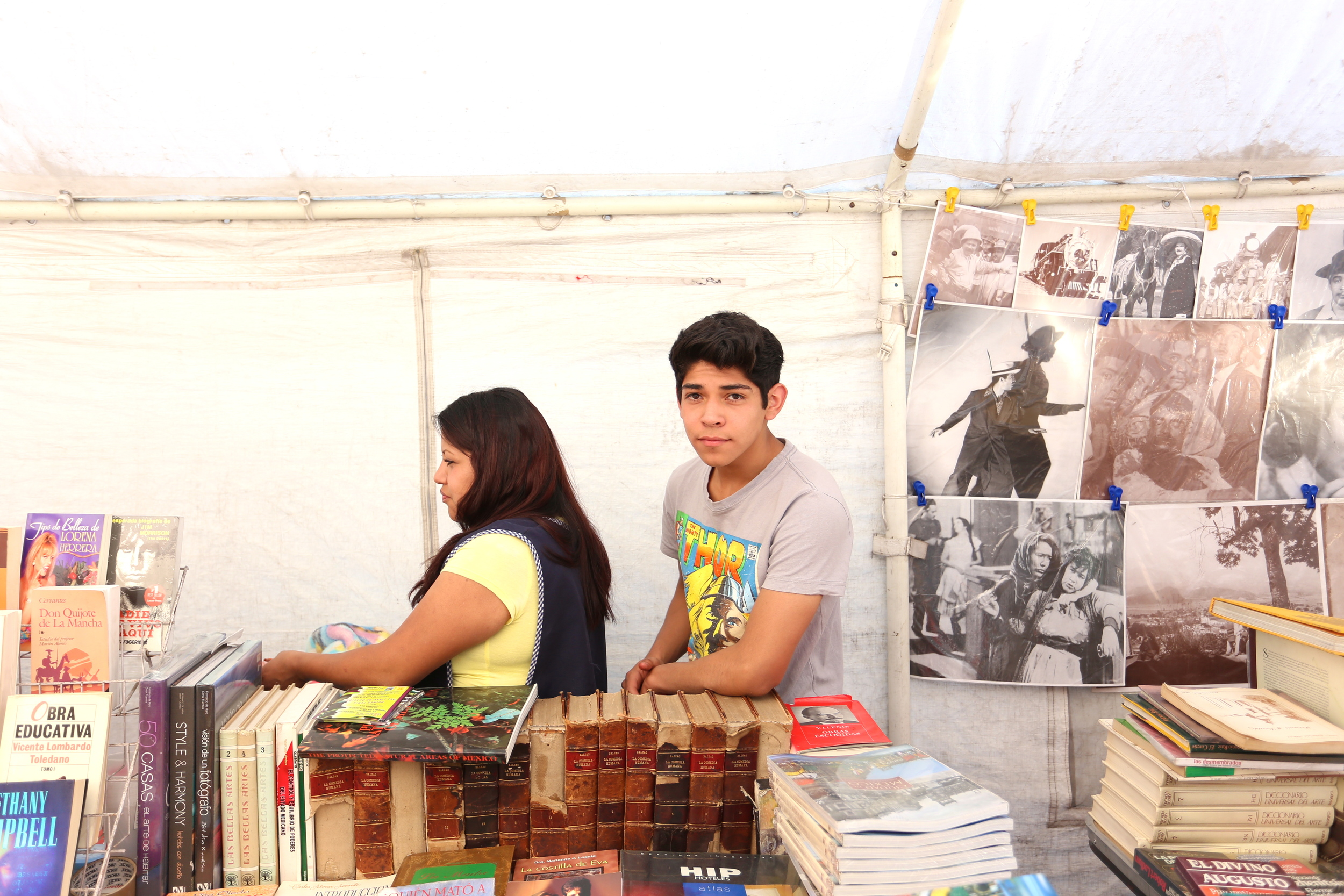There were endless rows of used book vendors, as well as bookstores lining several streets.