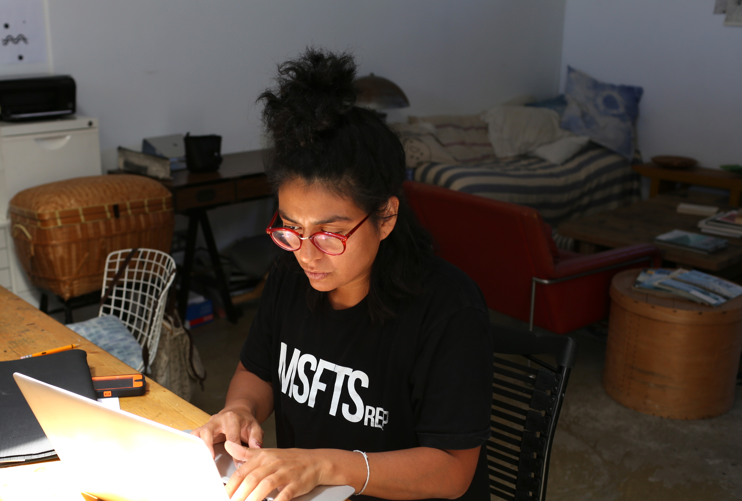 This is Elisa Shea, Alex's studio partner, working on some online sales.