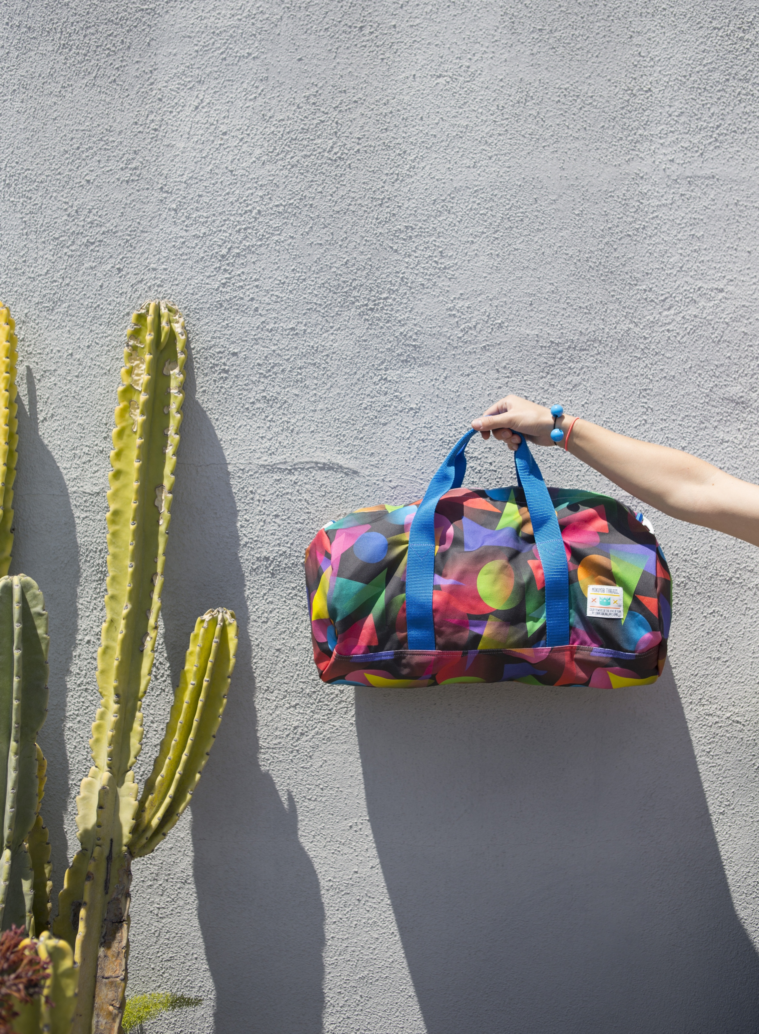 Shapes Travel Duffel
