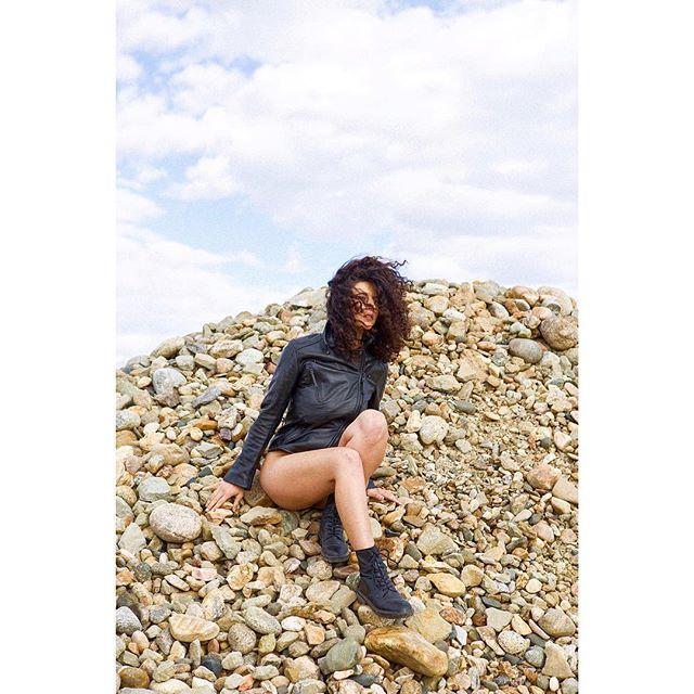 On the rocks. #strangevacation