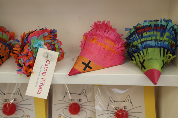 Catnip piñatas!
