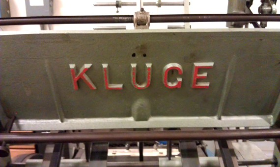 Their Kluge is dedicate to foil stamping. I'll be looking to find a reason to take advantage of this.