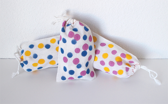 Works for other occasions. These would be great party favor bags.