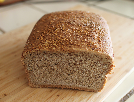 Looks like bread. Tastes like bread. Not the best bread I've tasted but not the worst. Definitely the bet bread I've ever made.