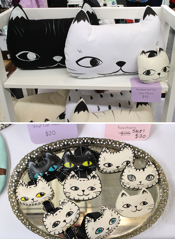 Of course I found some adorable cat goodies.