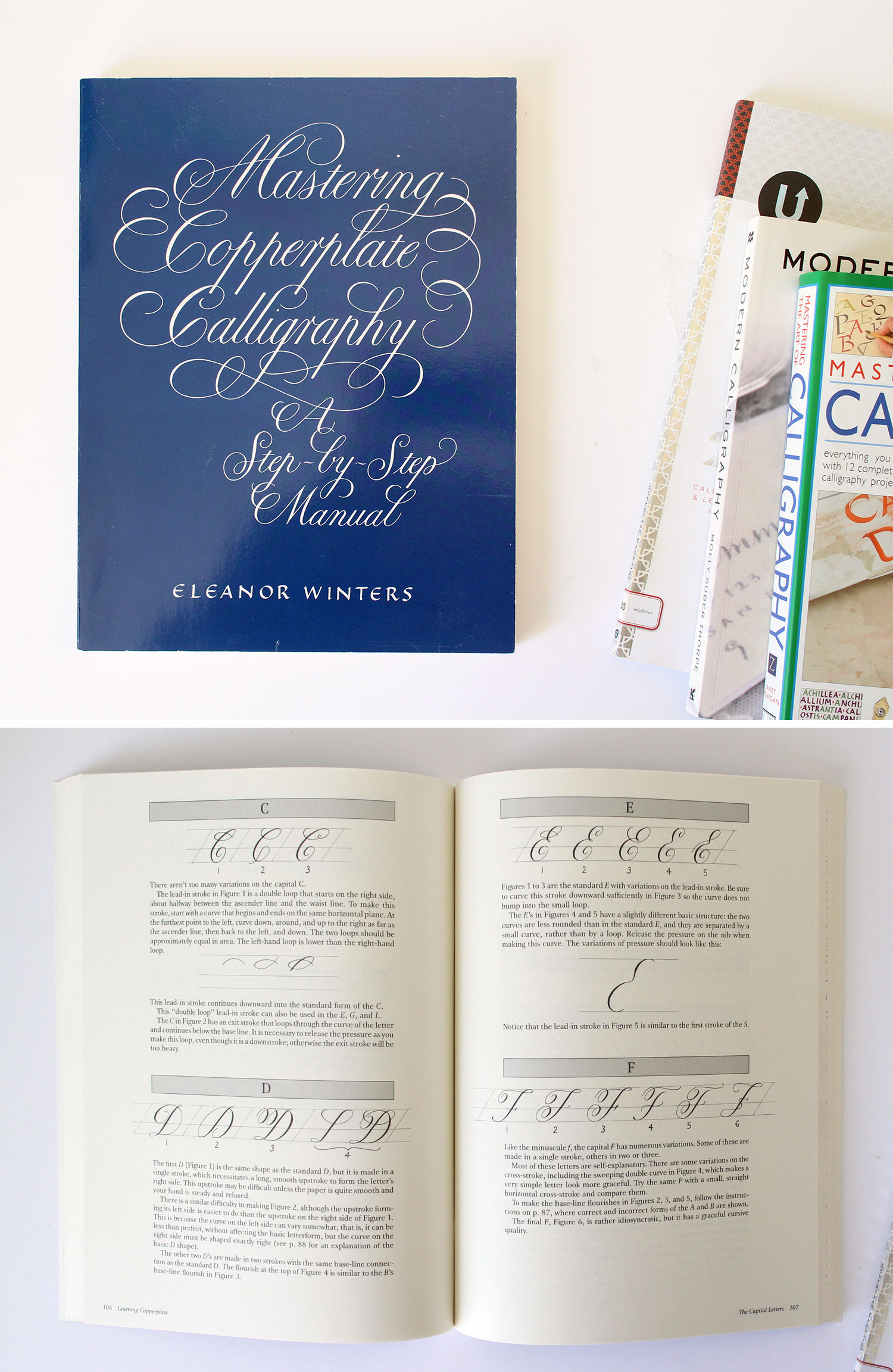 Purchase; Mastering Copperplate Calligraphy, A Step by Step Manual