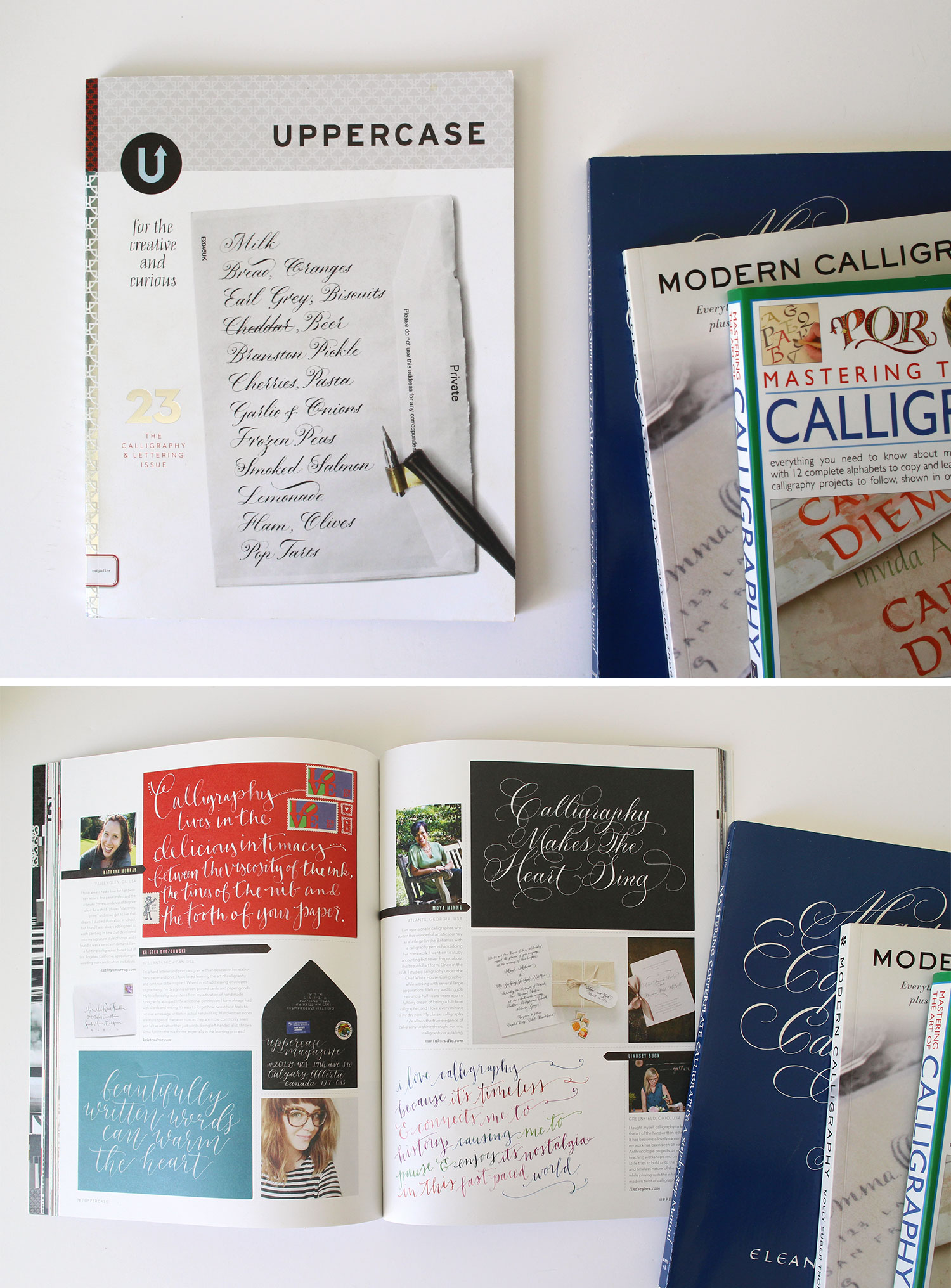 Purchase: UPPERCASE Magazine, The Calligraphy and Lettering Issue
