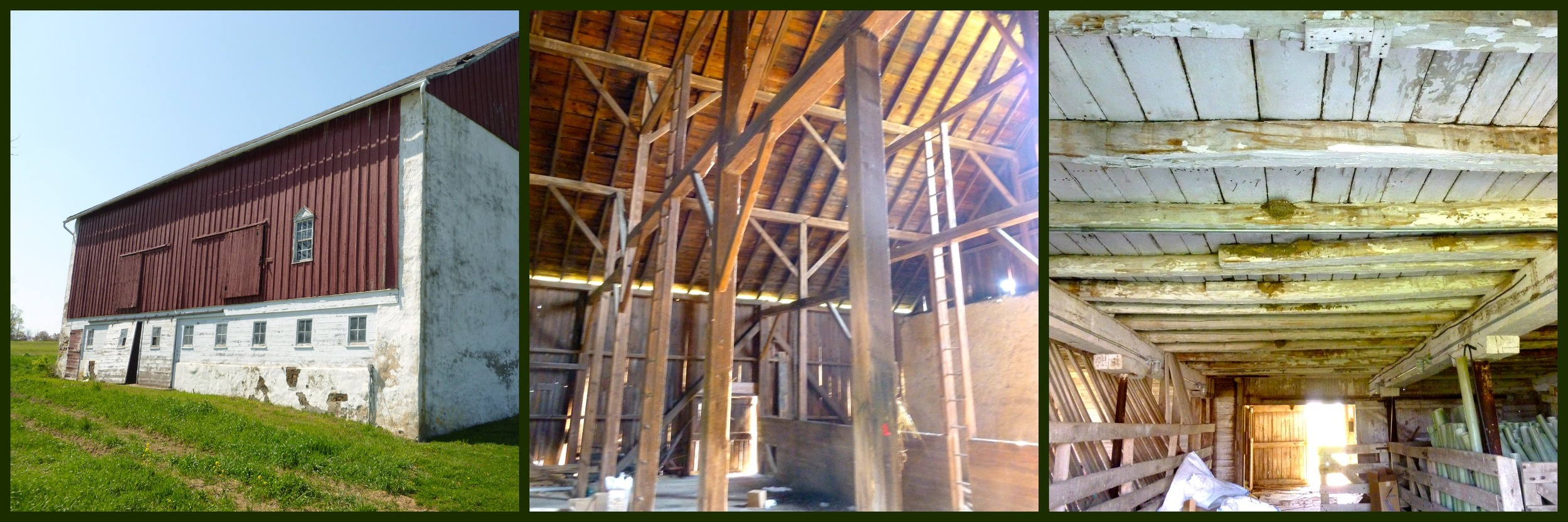 The timber framing is breathtaking.