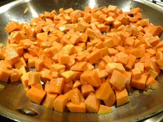#3 Add Sweet Potatoes