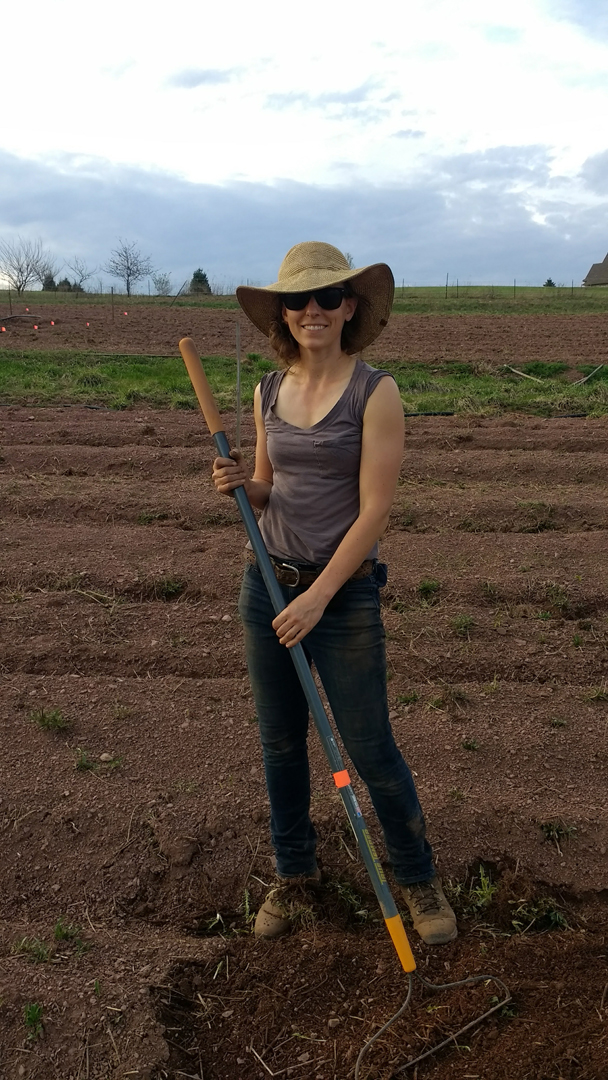 Meet Heidi from Aldebaran Farm, homegrown in Downingtown, PA!