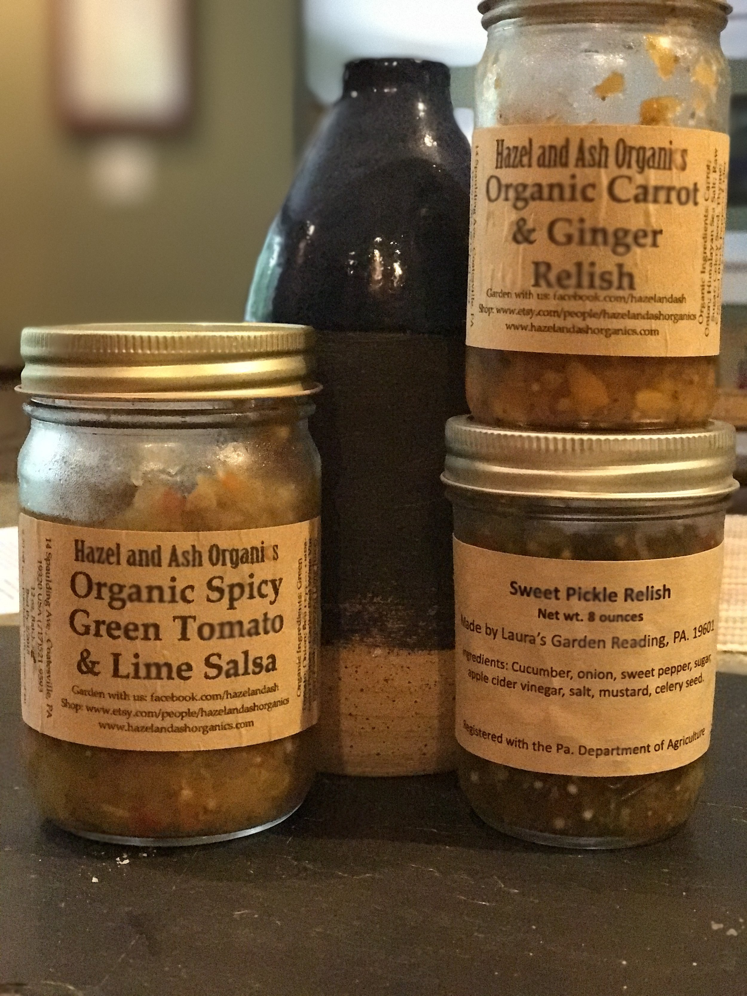 Add-ins: - Consider adding some relishes or salsa from Hazel & Ash or Laura's Garden