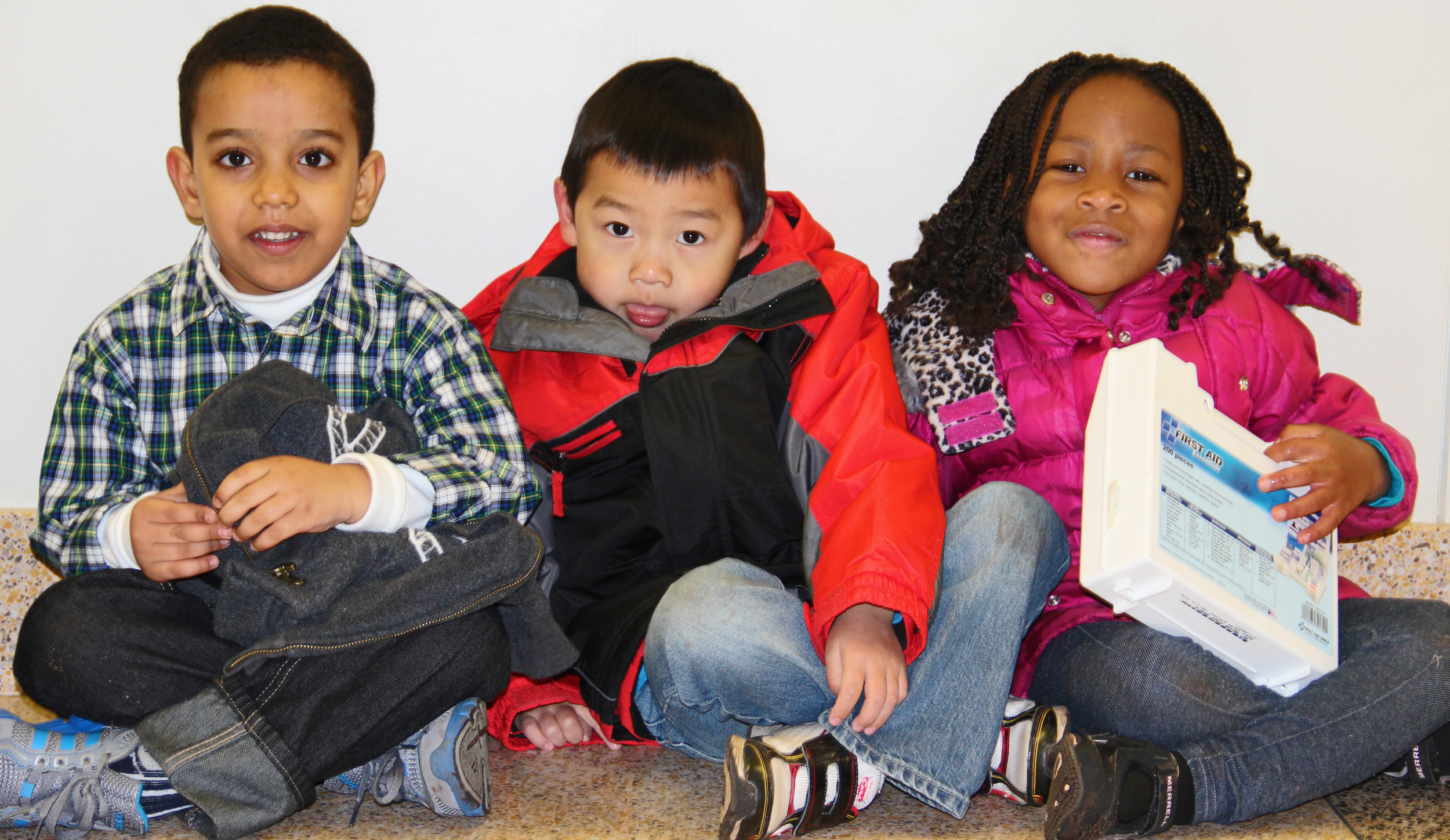 """The students at Earle Brown Elementary, in Brooklyn Center, have been welcoming to the """"lady with the camera""""!"""