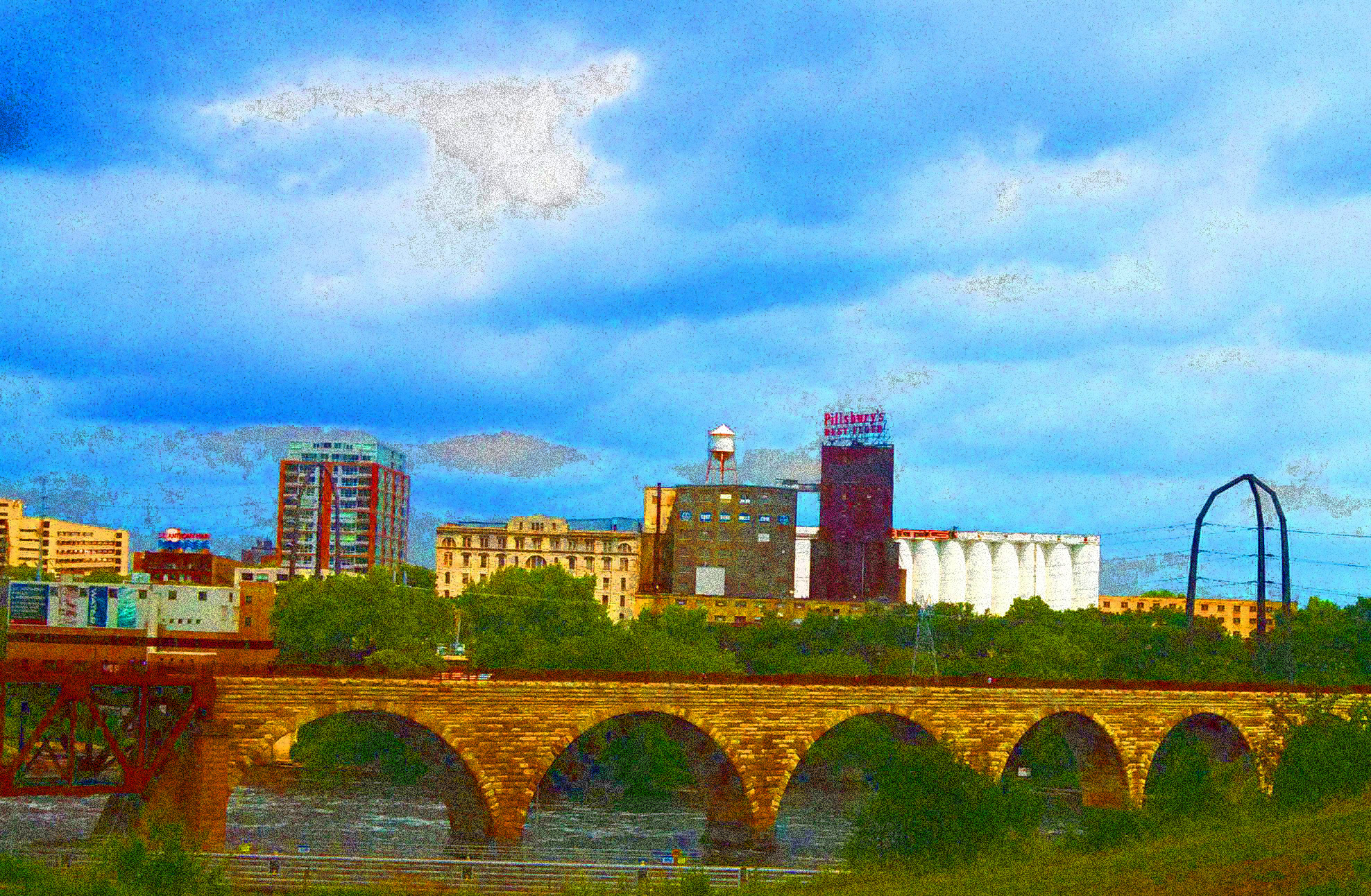 River view from Guthrie