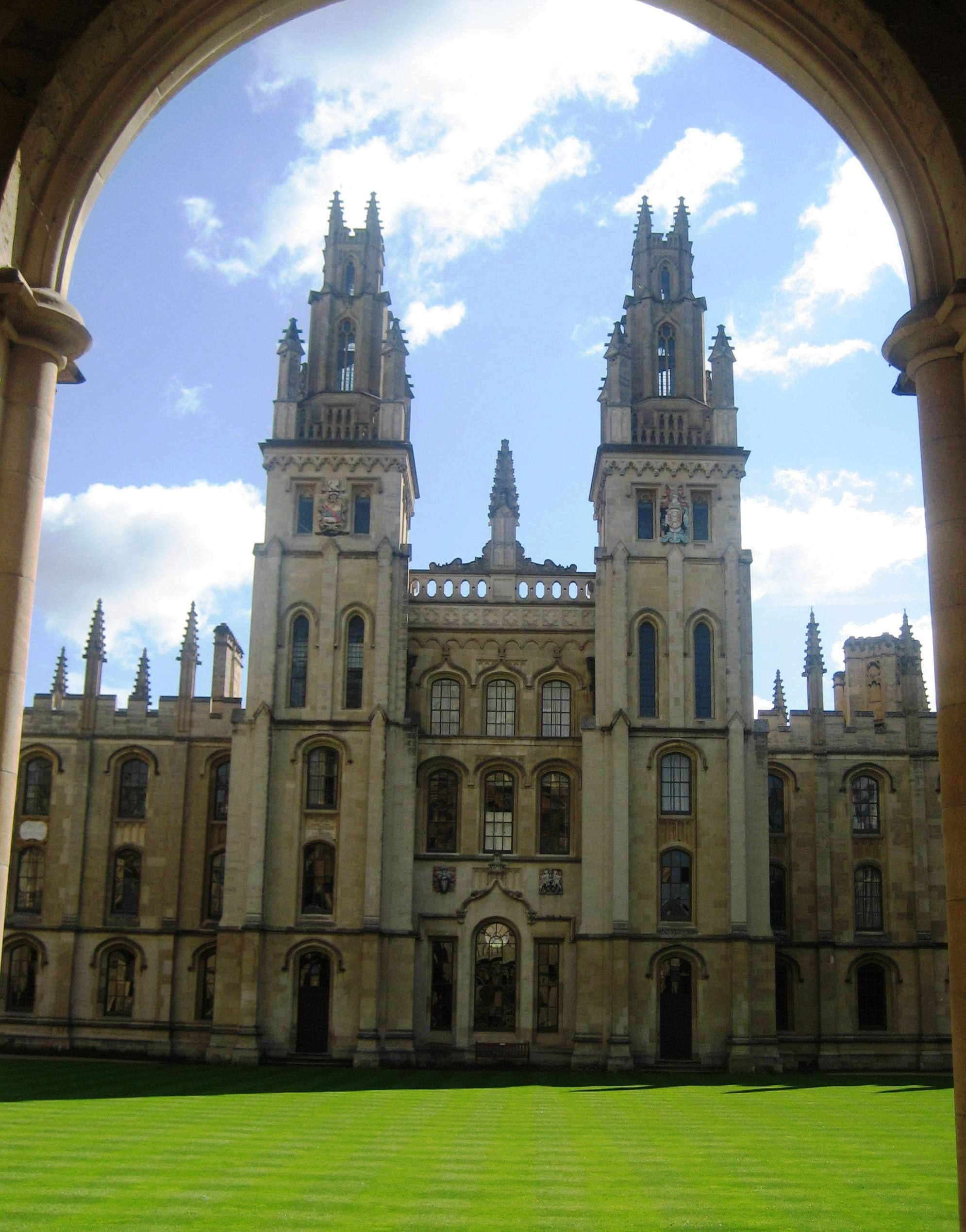 View of All Souls College