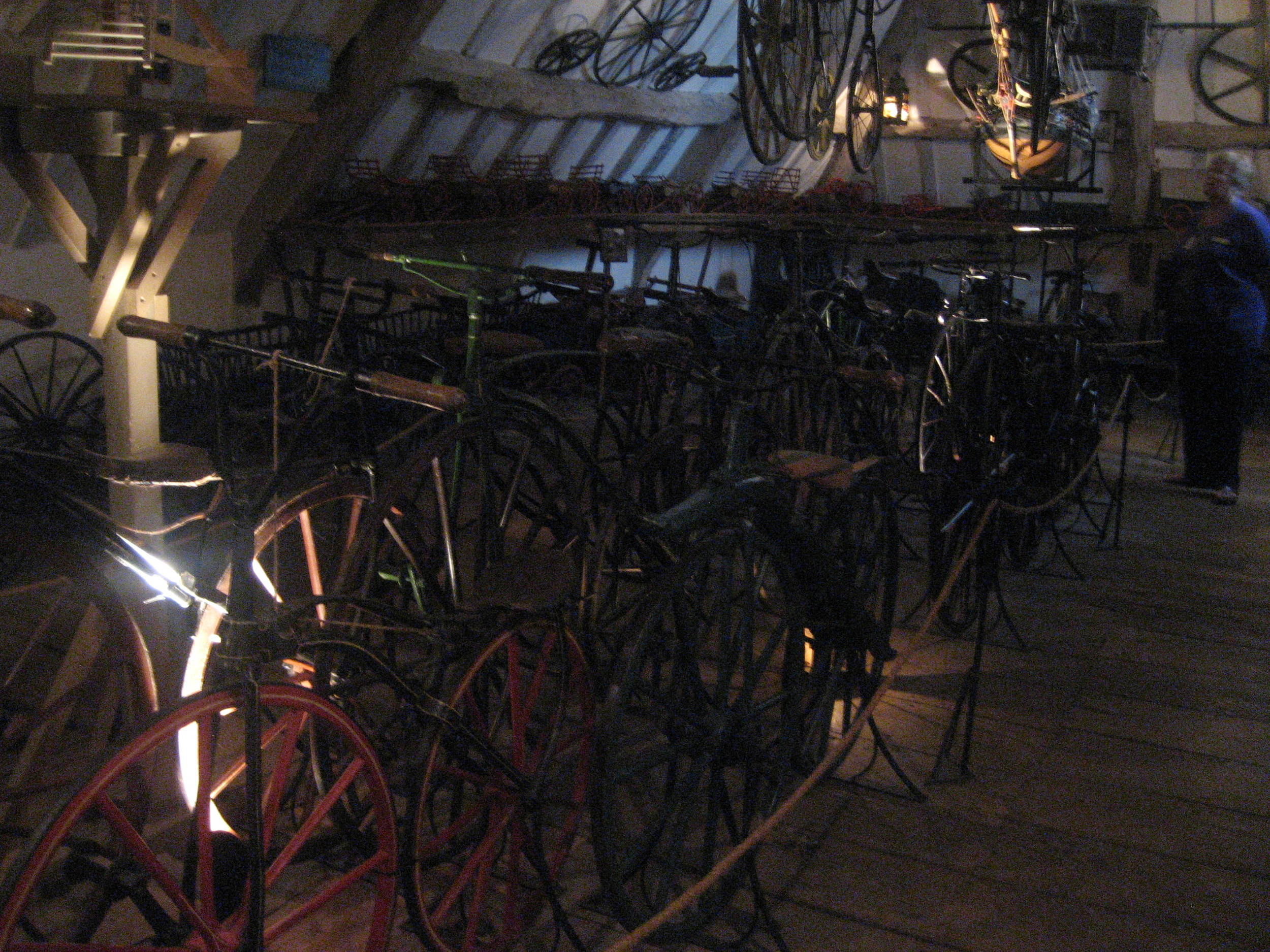 This room is called Room of a Hundred Wheels.