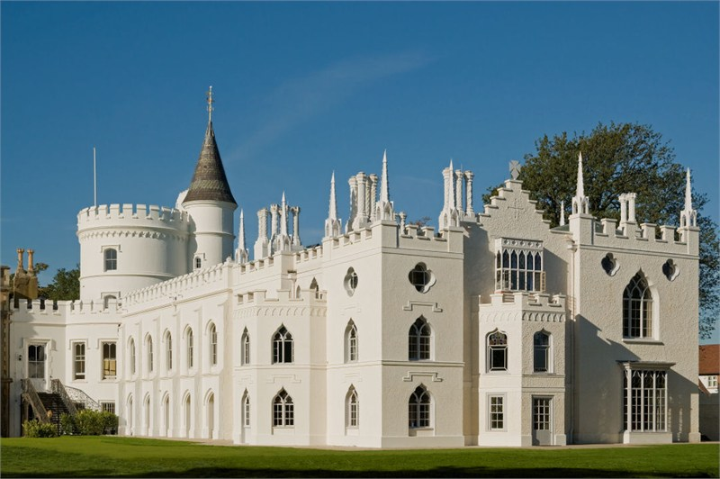 Strawberry Hill House, Horace Walpole's Gothic Castle (after 2012-2014 restoration)