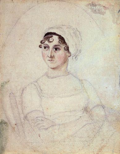 A possible portrait of Austen by Cassandra.