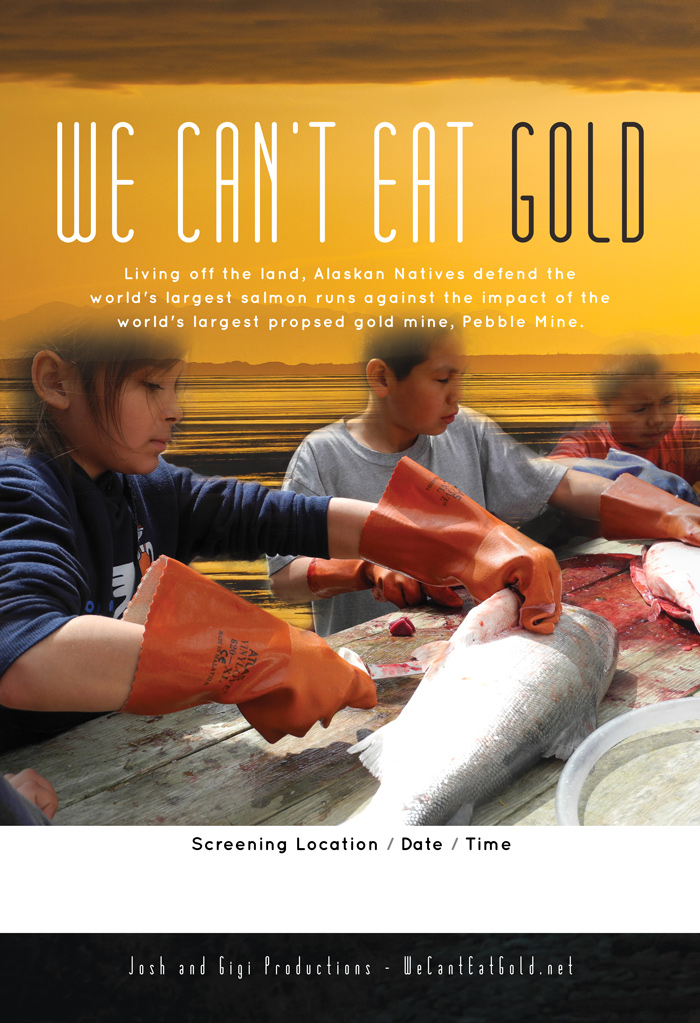 Theatrical Poster: We Can't Eat Gold
