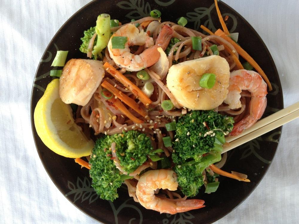 Rockin' it Seaside Thai Noodles