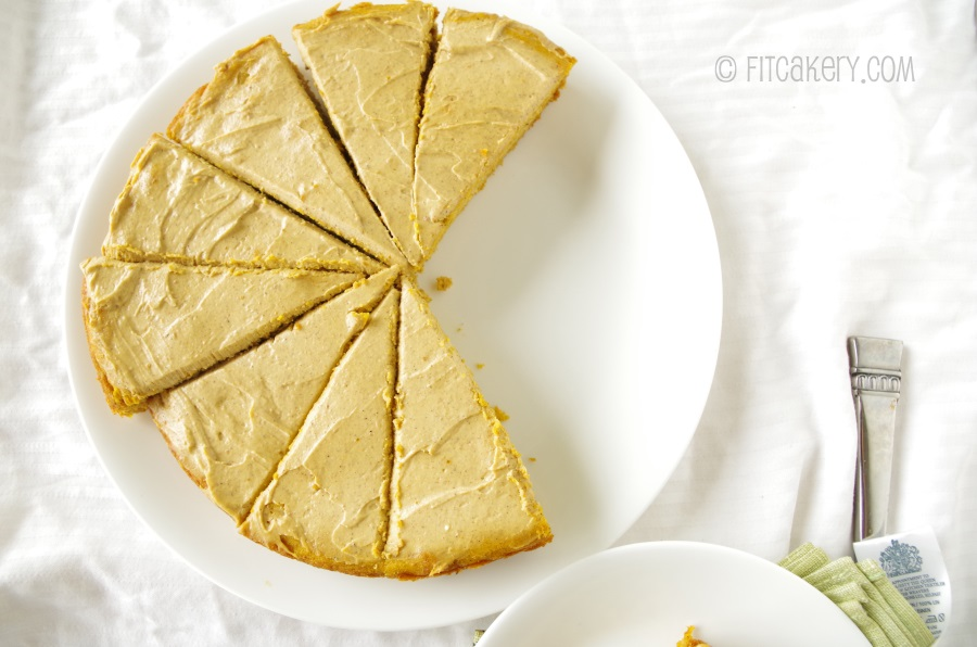 Um, yes, I'll have a slice... or three! More Pumpkin Cake!