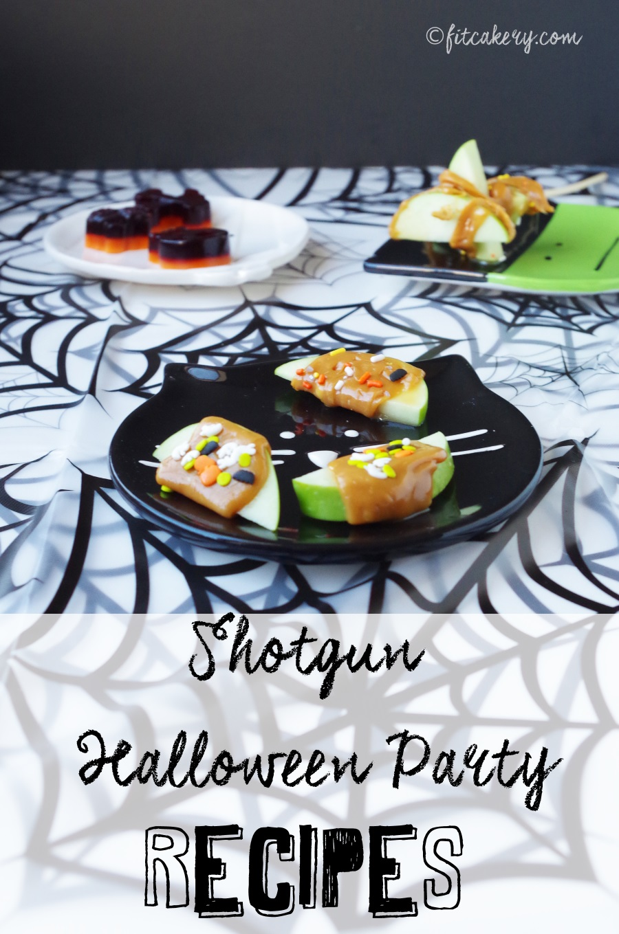 Shotgun Halloween Recipes for quick + easy Halloween treats (that are healthier than your average candy!) #HalloweenParty