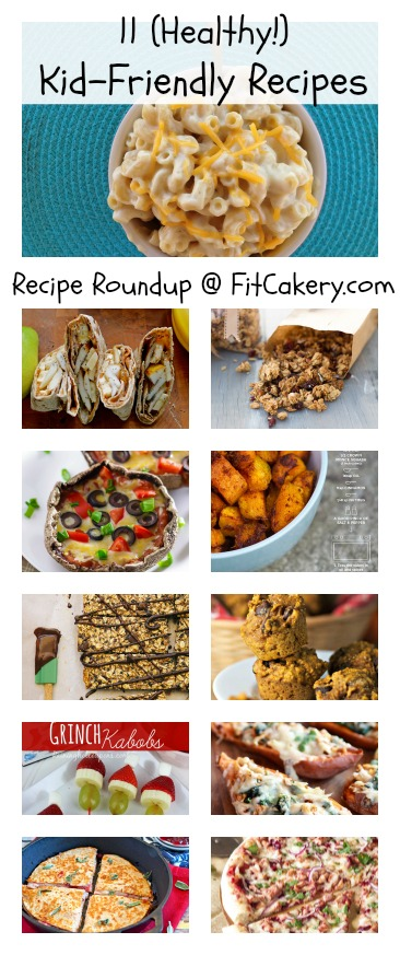 These 11 recipes are the best for getting kids in on healthy holiday cooking! #healthyfamily