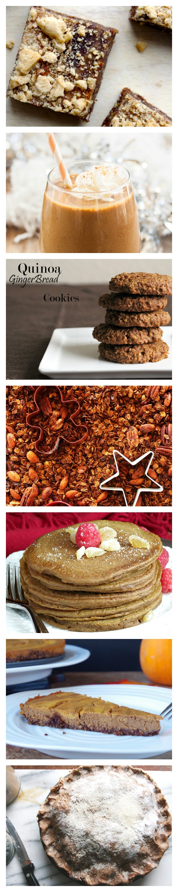 I'm in love with all 8 ways to have healthified gingerbread! #healthyholidays