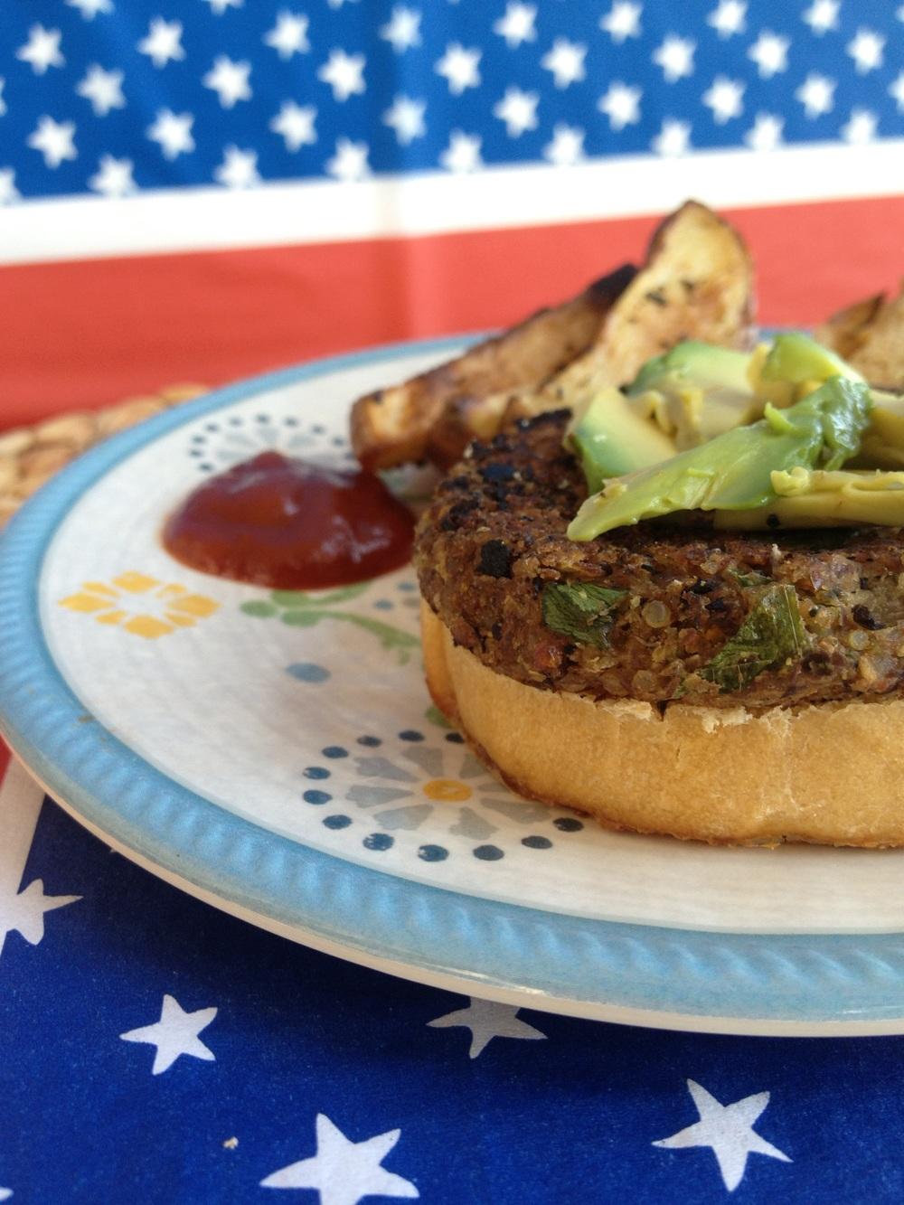 http://fitcakery.com/2013/6/12/best-black-bean-burger