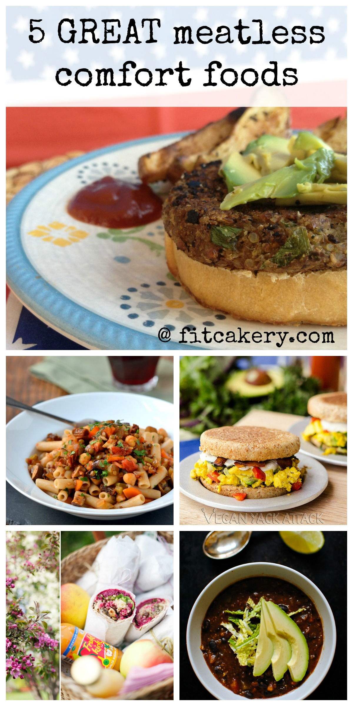 5 of the most soul-warming meat-free comfort foods I think I may ever meet! Yum! #vegetarianrecipes