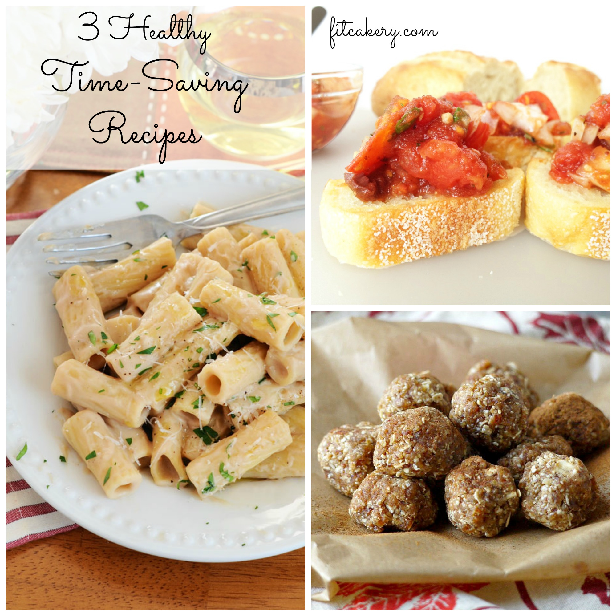 Three healthy and delicious recipes I'll be making for easy + quick gourmet dinners in! #easyrecipes #healthyrecipes