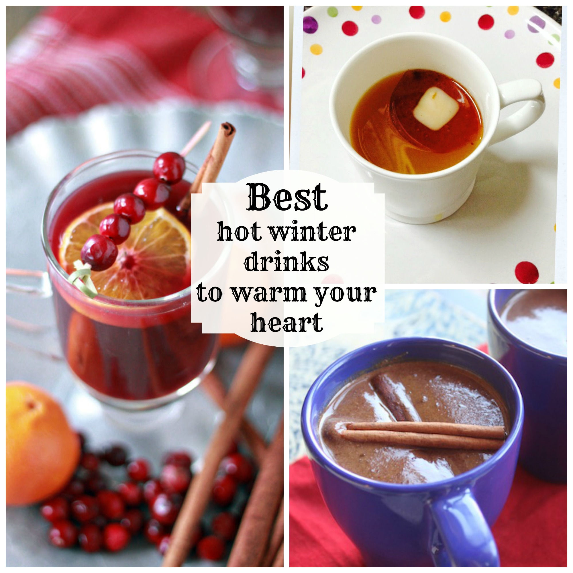 These drinks taste gourmet, AND they are easy to make! #heartwarming #drinkrecipes