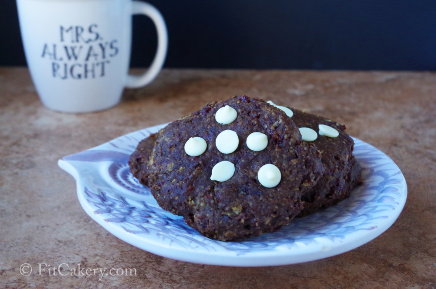 Brownie Oatmeal Breakfast Cookies Recipe - FitCakery.com