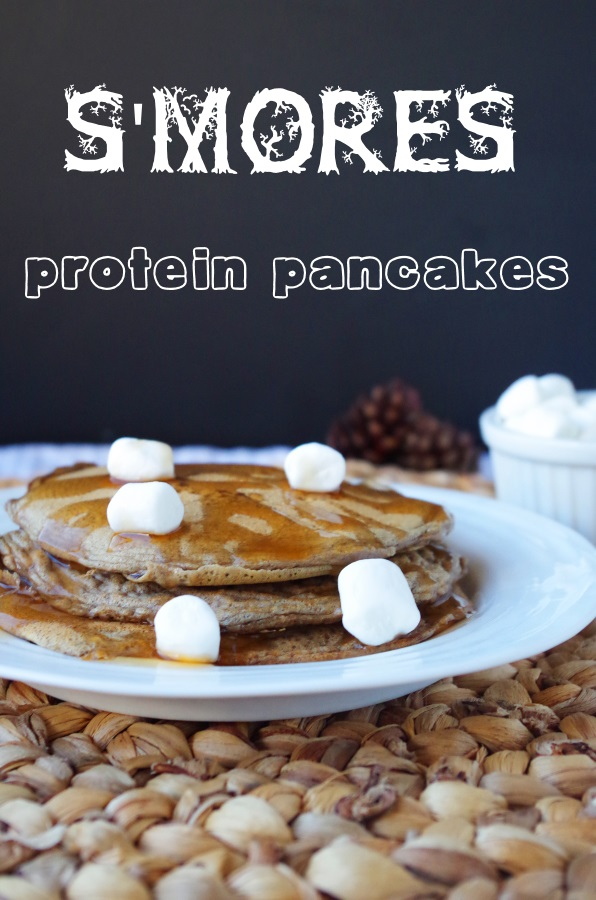 Easy protein pancake recipe withlow carbs andhigh protein - FitCakery.com