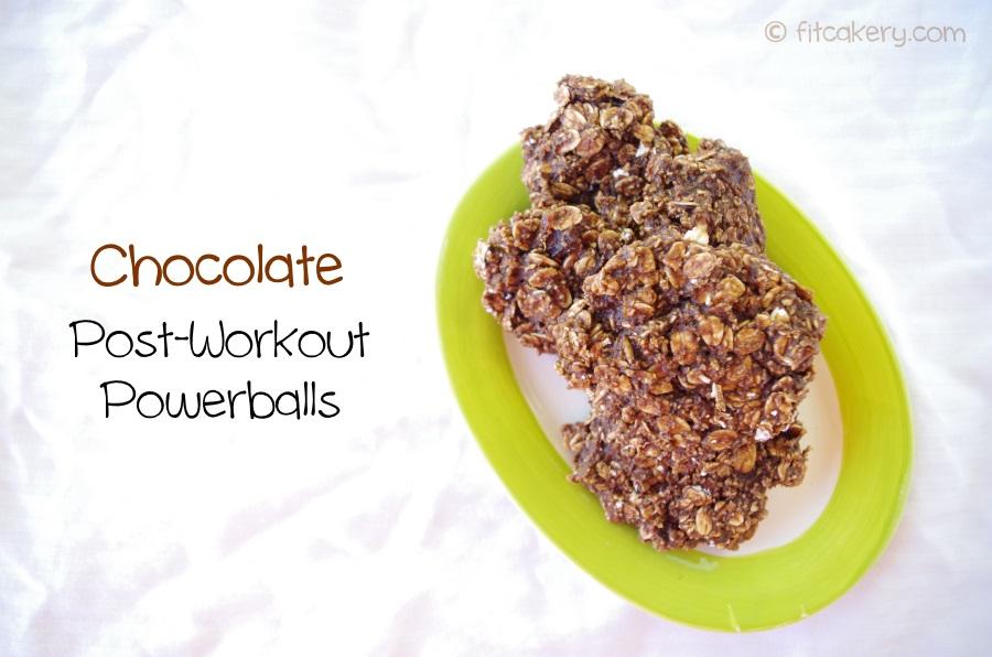 Chocolate Post-Workout Powerballs  (gluten-free)
