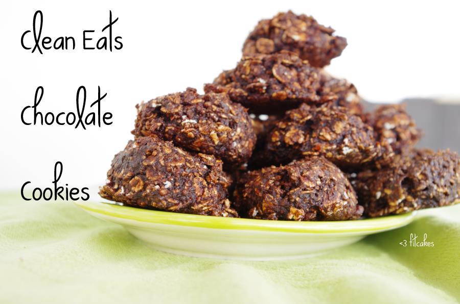 Clean-Eats Chocolate Cookies 2  (gluten-free, vegan)