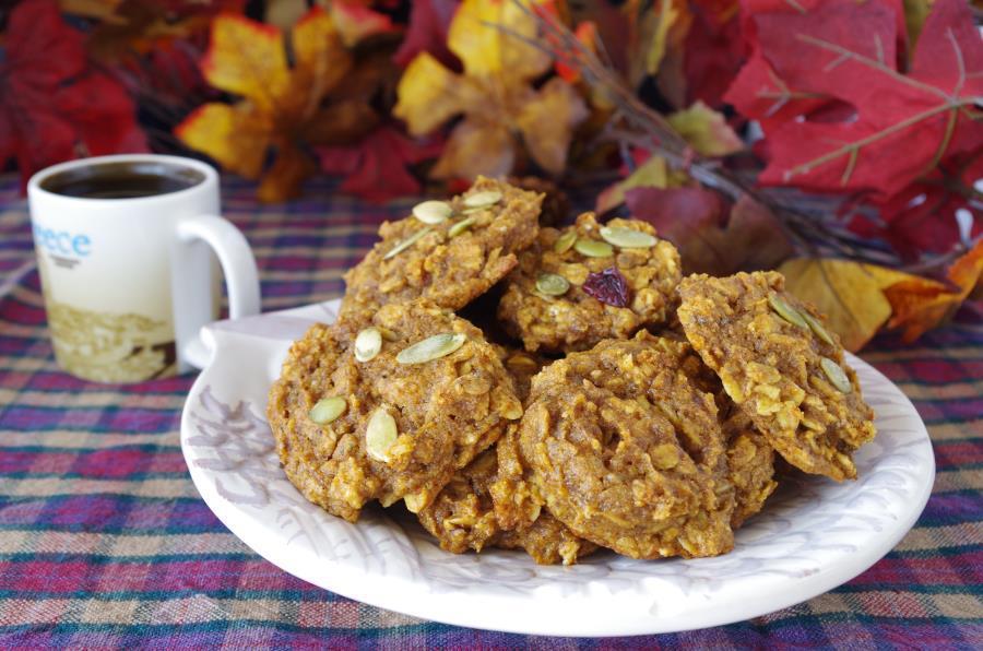 Spiced Pumpkin Cookies for Everyone  (gluten-free, vegan)