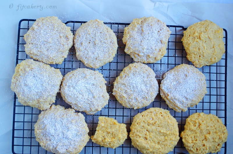 Lemon Drop Birthday Cookies are so delicious it's hard to believe they're healthy! - FitCakery.com