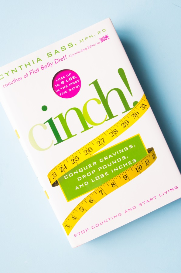 Cinch! by Cynthia Sass, MPH, RD - Book giveaway by FitCakery.com