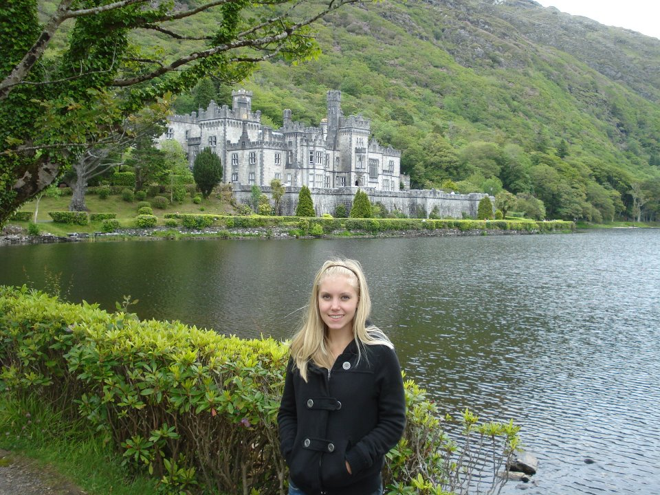 Me near an Irish Castle on a tour of southern Ireland