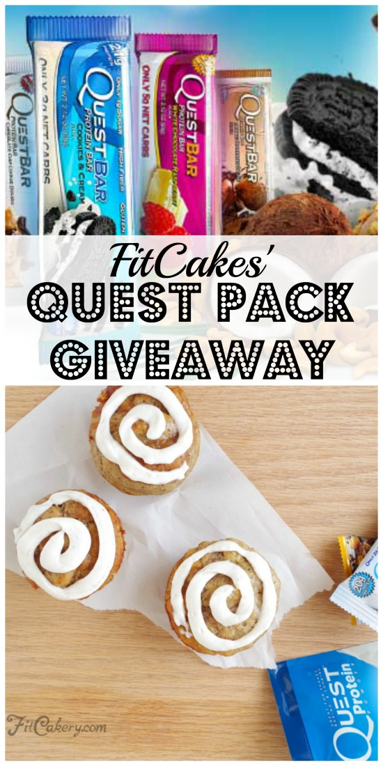 Pin Me! Enter the contest included below! - FitCakery.com
