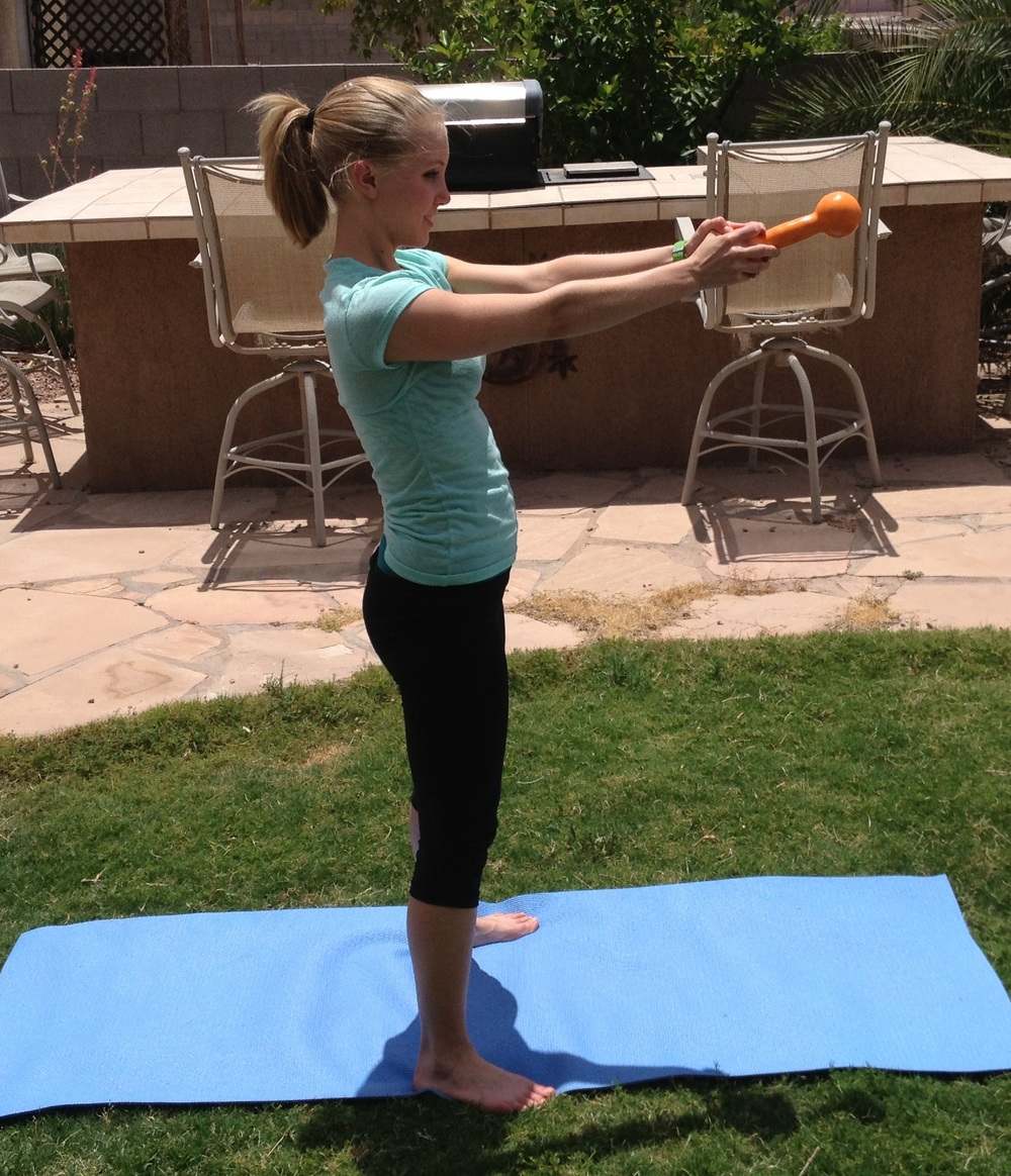 You've got to try this awesome multitasking workout on the weekends! - FitCakery.com