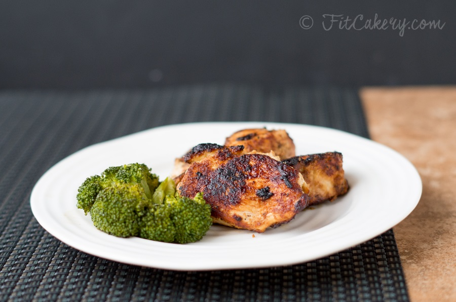 Best ever simple, gluten-free, chicken  breast recipe |   FitCakery.com