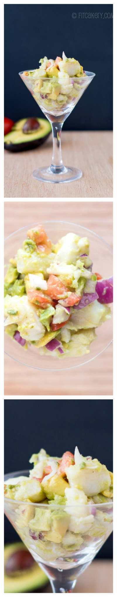 Simple Ceviche recipe - fresh, easy, and delicious! | FitCakery.com