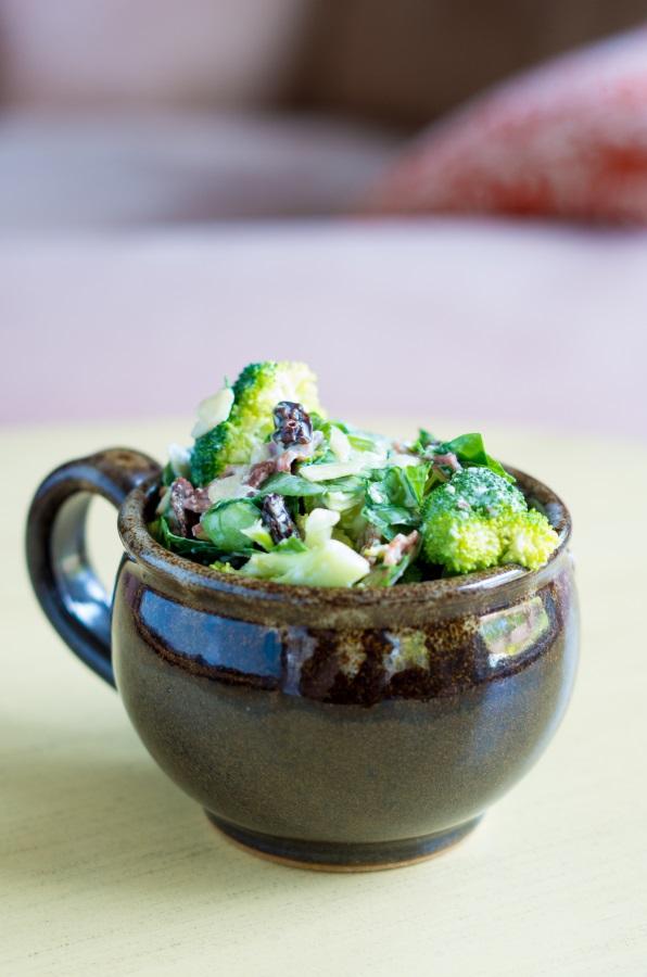 Broccoli Power-Salad recipe | FitCakery.com