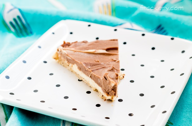 Marble Cheesecake {low-carb, gluten-free} | FitCakery.com