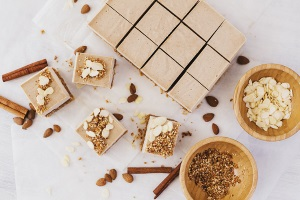 23. Almond Caramel Cheesecake - Cocoon Cooks