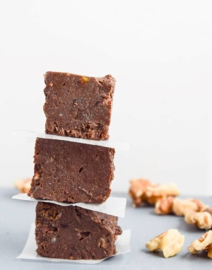 34.  Brownie Batter Freezer Fudge  - Yup It's Vegan