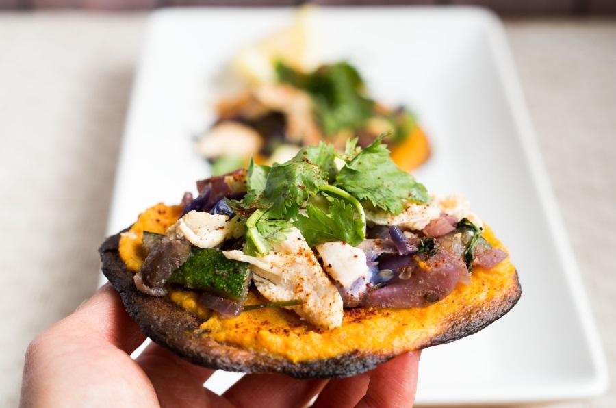 Plantain Tostadas and Tortillas - gluten-free, paleo, AIP, vegan recipe | Fitcakery.com